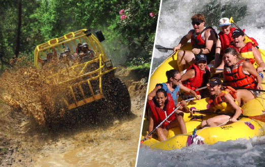 Offroad Monster & Rafting